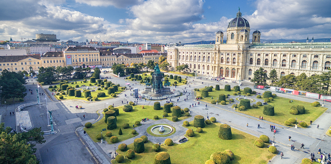 Vienna's Mariatheresienplatz